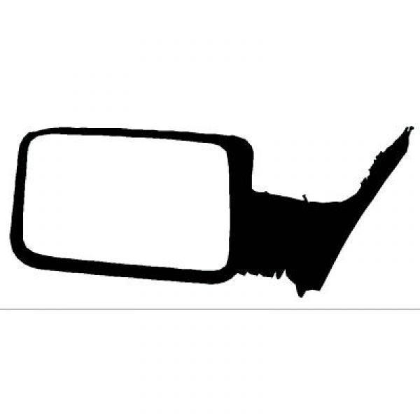 Specchio retrovisore dx PEUGEOT 309, 89-93 reg manuale