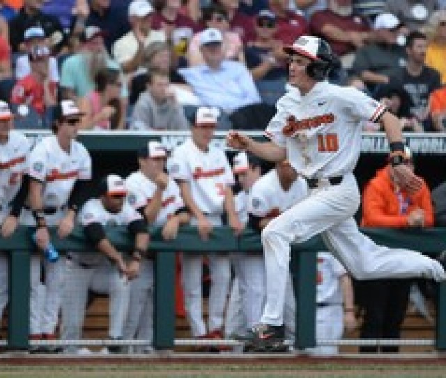 College World Series Oregon State Routs Mississippi State To Set Up Decisive Saturday Matchup