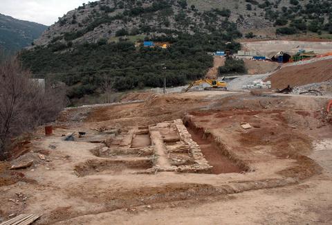 Βυζαντινό πανδοχείο βρέθηκε στα Τέμπη