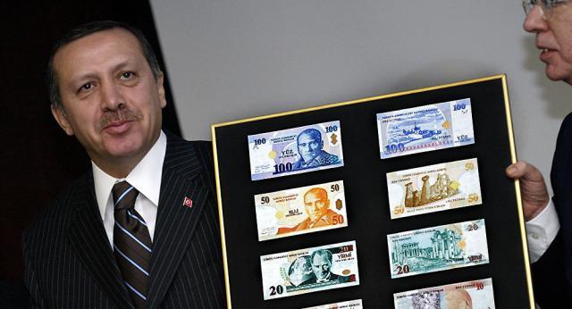 土耳其里拉走向崩溃边缘 总统:爱国就抛售美元(图)
