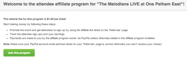 How to become an affiliate on Eventbrite and earn cash