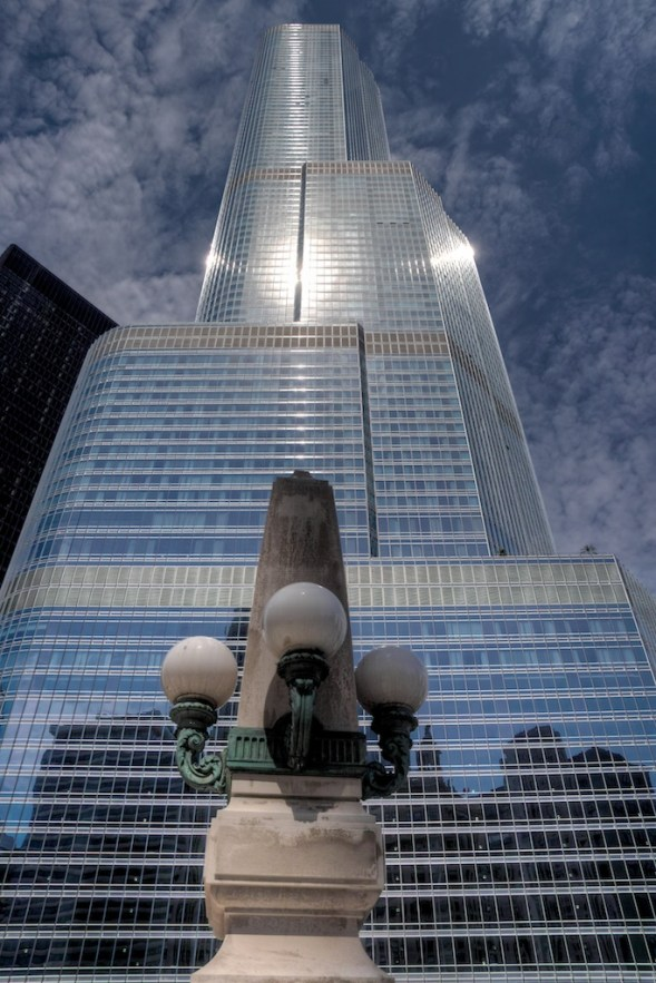 Trump Tower in Chicago.