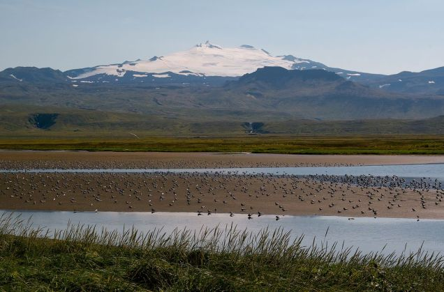 Snaefell glacier