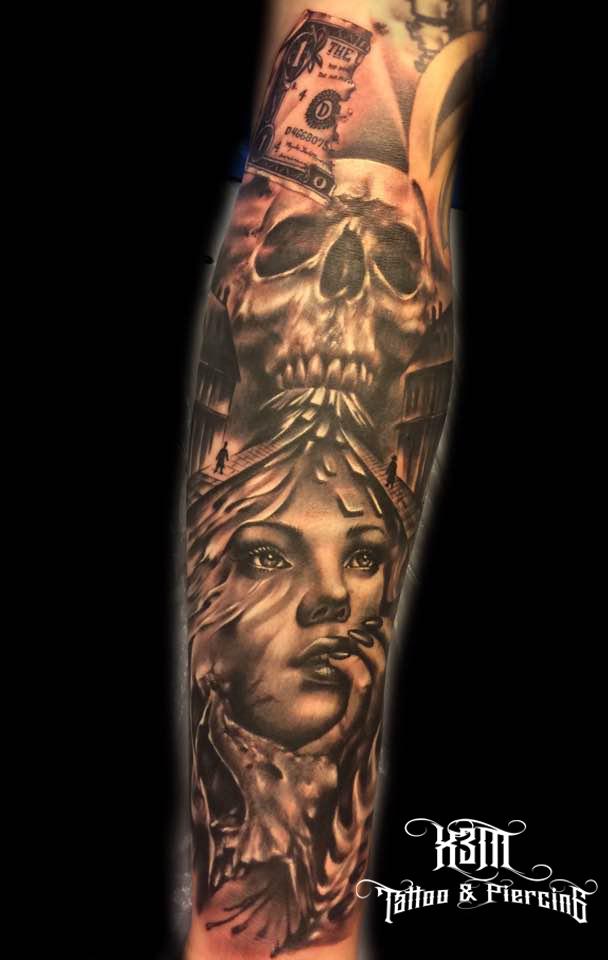 3 plass Black & Grey, Trondheim Tattoo & Bodyart convention 2017
