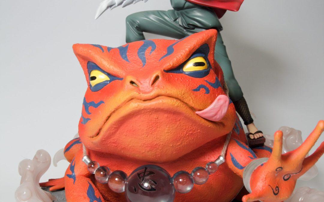 火影忍者 模玩殿堂GK 木葉三忍 自來也 妙木山 蝦蟆仙人