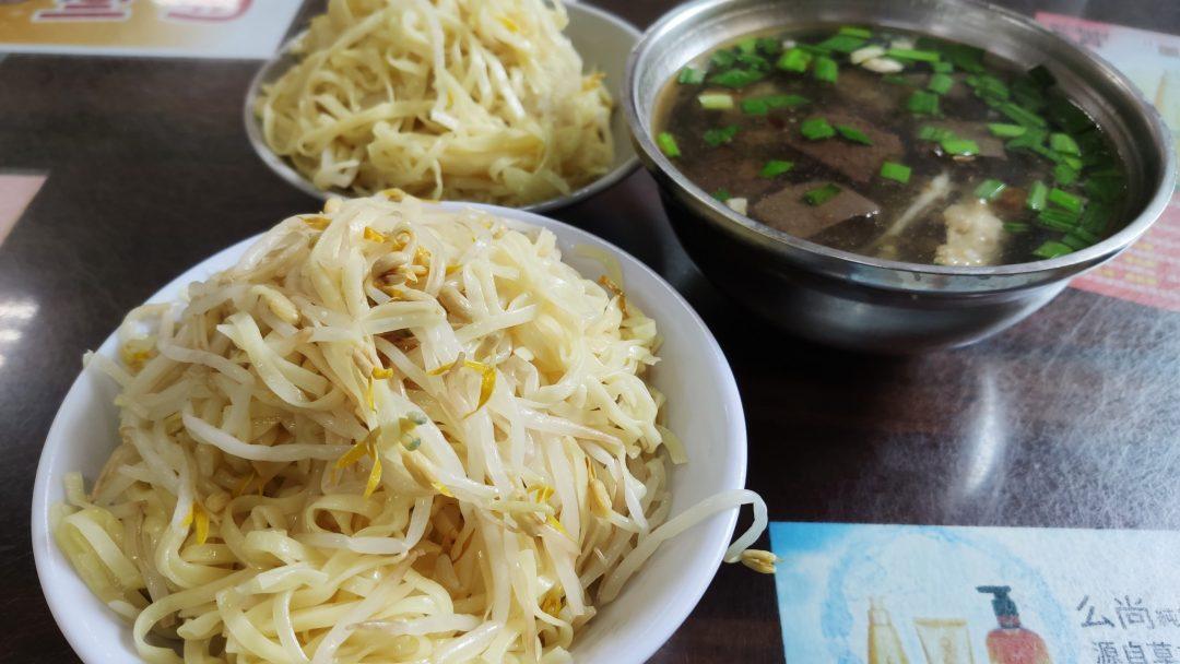 台南新營美食 阿忠豆菜麵 每個新營柳營人的必吃早餐