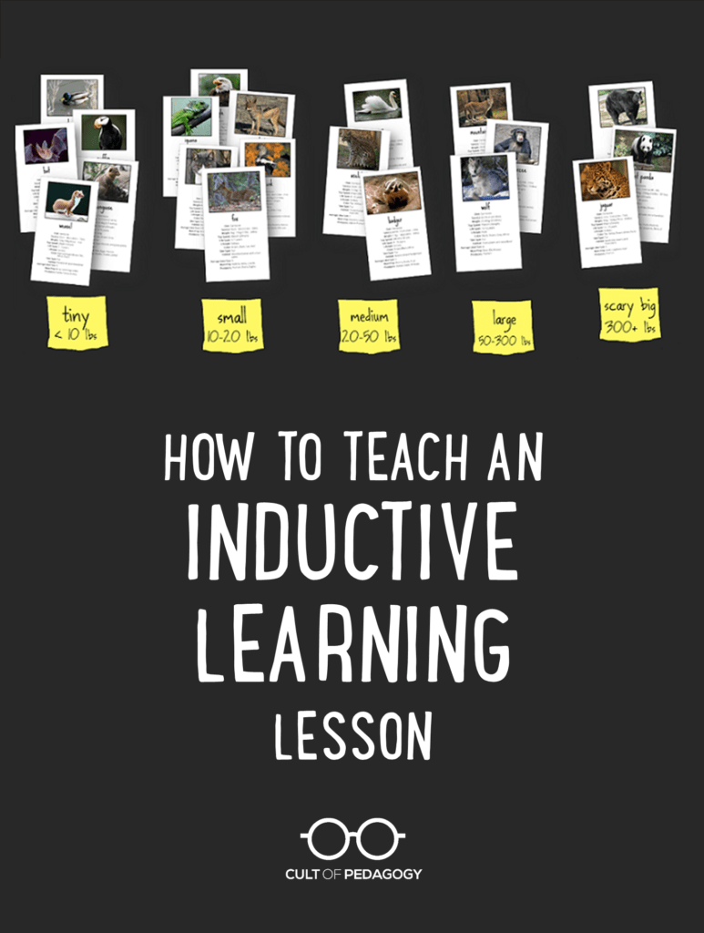 medium resolution of How to Teach an Inductive Learning Lesson   Cult of Pedagogy