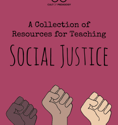 A Collection of Resources for Teaching Social Justice   Cult of Pedagogy [ 1273 x 960 Pixel ]