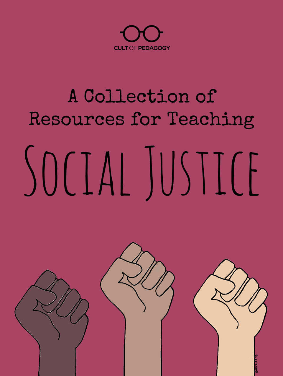 hight resolution of A Collection of Resources for Teaching Social Justice   Cult of Pedagogy