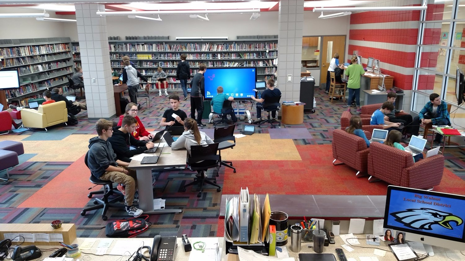 How A School Library Increased Student Use By 1 000