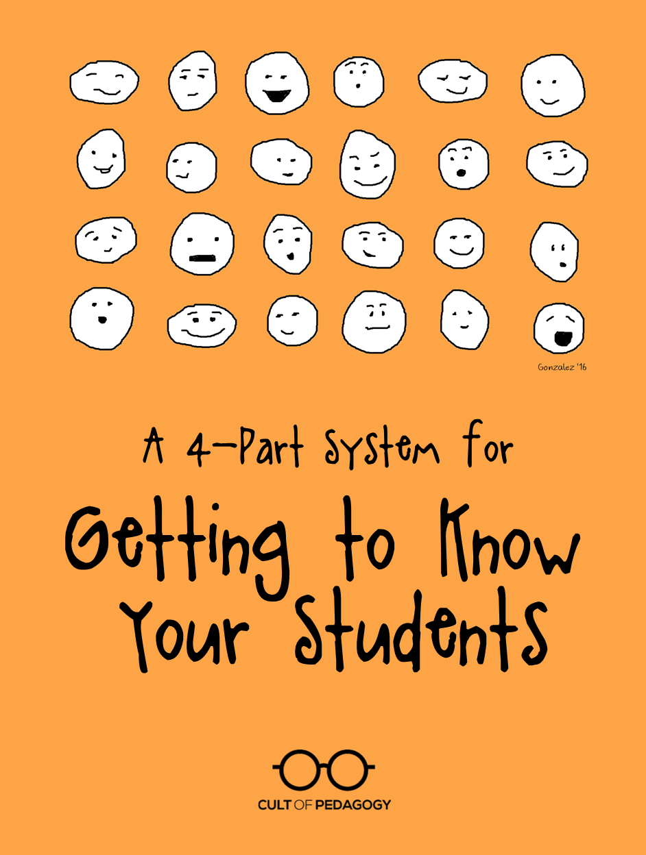 hight resolution of A 4-Part System for Getting to Know Your Students   Cult of Pedagogy