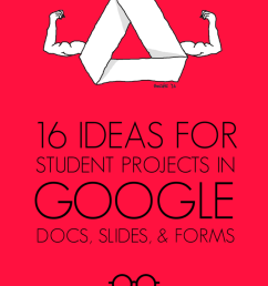 16 Ideas for Student Projects Using Google Docs [ 1024 x 773 Pixel ]
