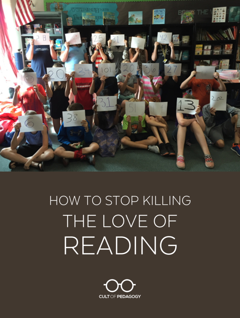 hight resolution of How to Stop Killing the Love of Reading   Cult of Pedagogy