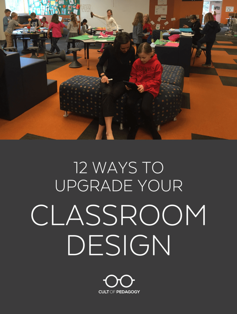 diy classroom chair covers swivel wheels 12 ways to upgrade your design cult of pedagogy listen my interview with bob dillon transcript