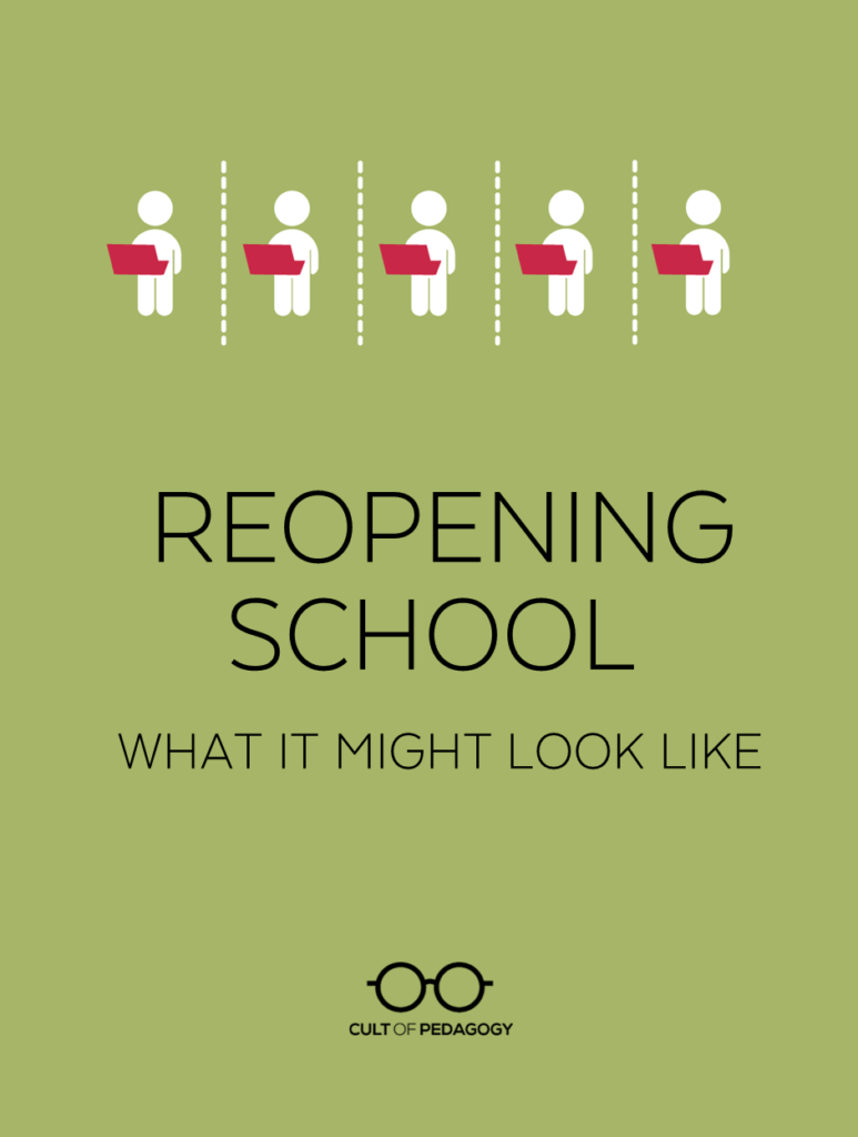 medium resolution of Reopening School: What It Might Look Like   Cult of Pedagogy