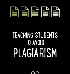 Teaching Students to Avoid Plagiarism   Cult of Pedagogy [ 1024 x 773 Pixel ]