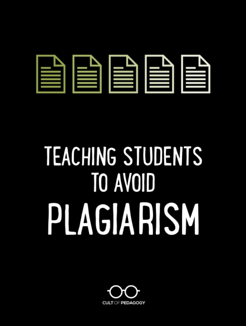 small resolution of Teaching Students to Avoid Plagiarism   Cult of Pedagogy