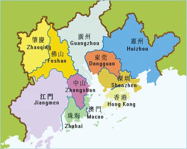 大灣區 = 香港政策法玩完 - MO's notebook 4G 黃世澤 的筆記簿