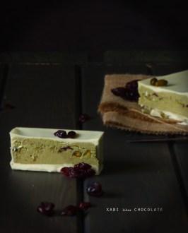 Turrón de chocolate blanco