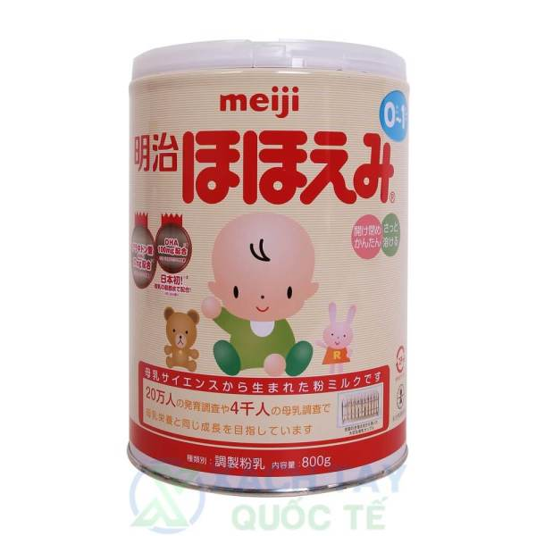 Sữa Meiji số 0 hộp 800g (0 đến 1 tuổi)