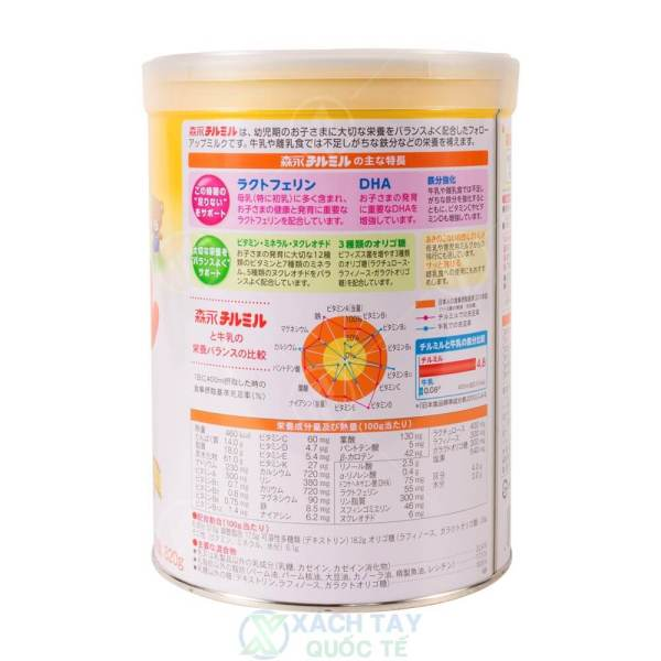 Sữa Morinaga số 9 Hộp 820g (1 - 3 tuổi)
