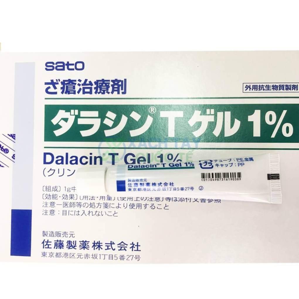 Gel trị mụn Sato Dalacin T Gel 10g