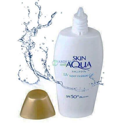 Kem Chống Nắng Rohto Skin Aqua UV Super Moisture dạng Gel 110g