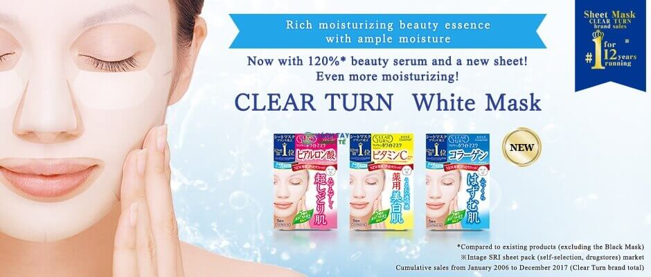 Mặt nạ Kose Cosmeport Clear Turn White Mask
