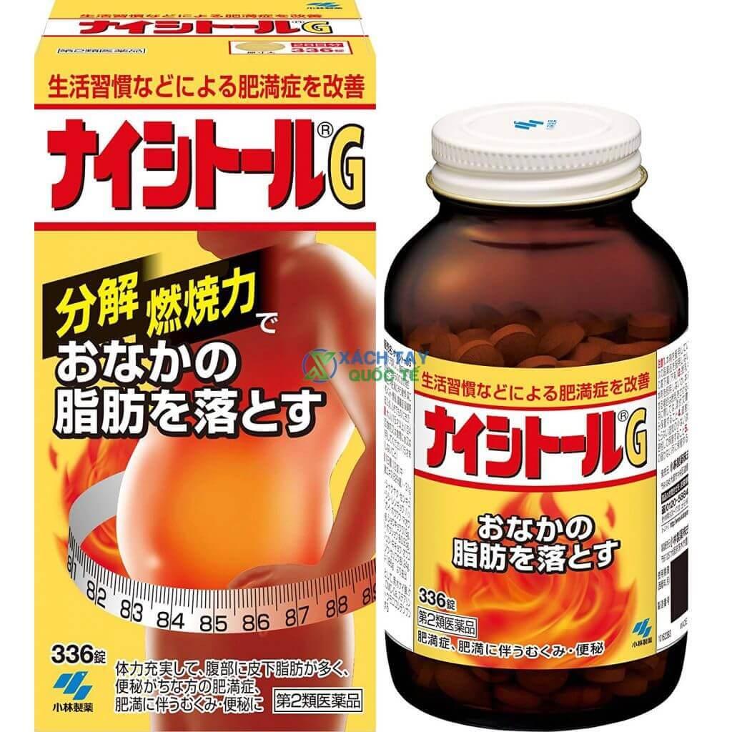 Thuốc giảm mỡ bụng Naishituro G Kobayashi