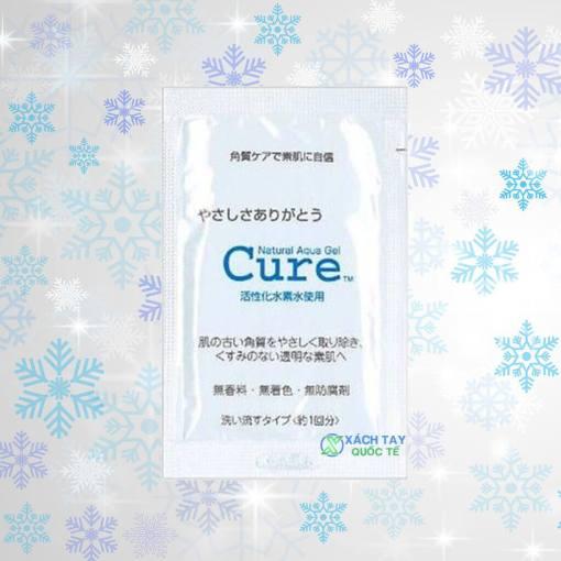 Túi tẩy da chết Cure 3g