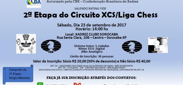 Etapa 02 Circuito XCS/LigaChess