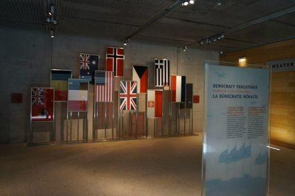 Memorial aos países que participaram da invasão da Normandia