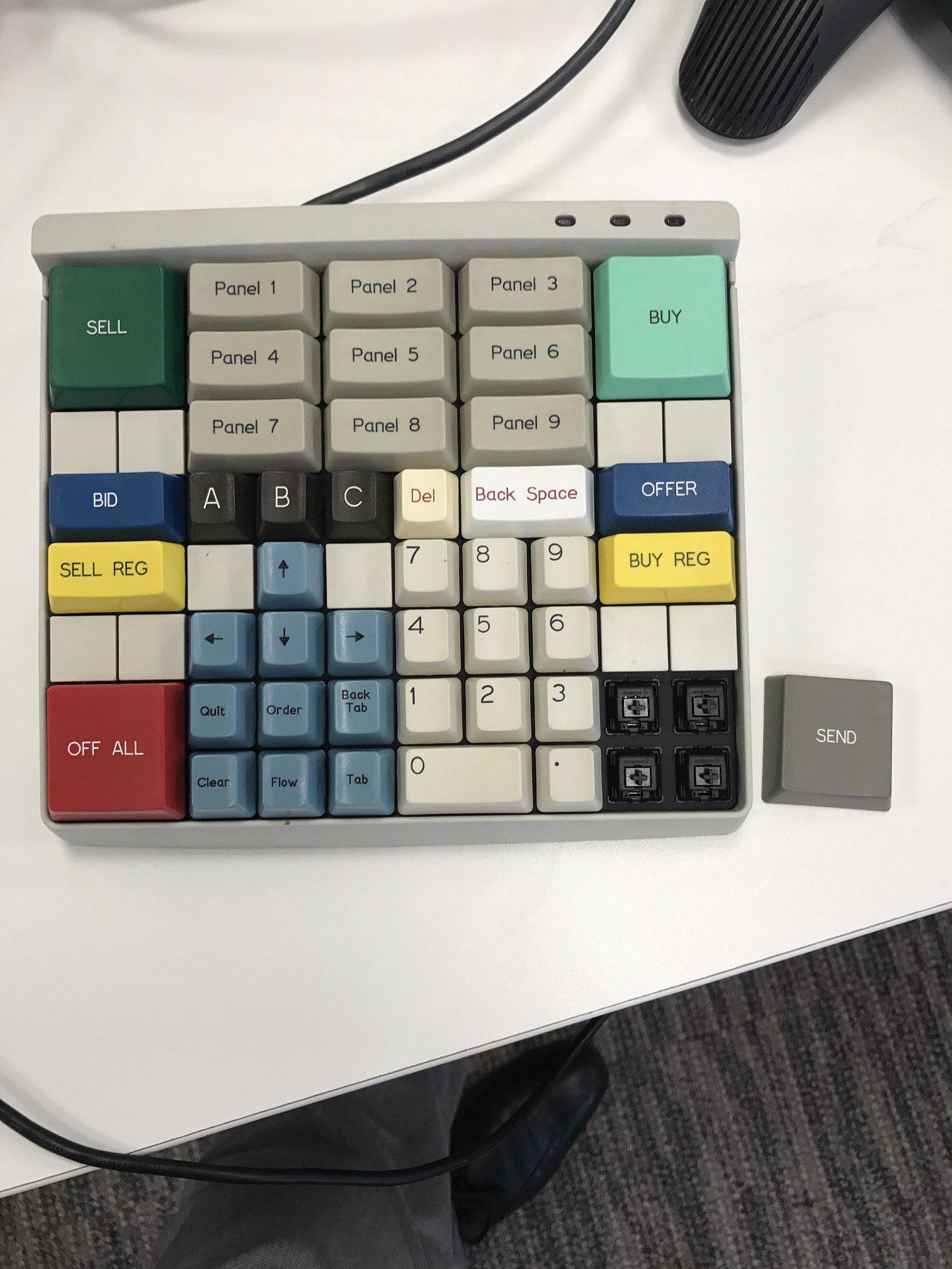 Brokertec Keyboard