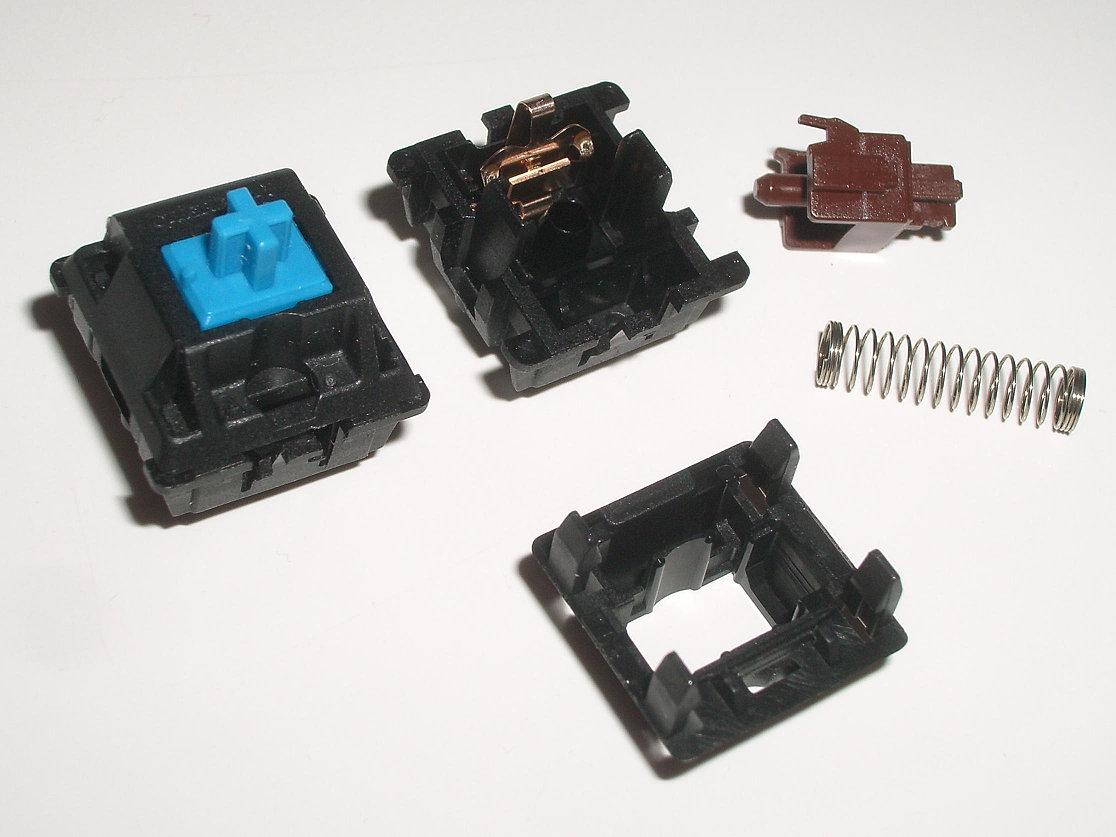 Keyboard Key Switch Mechanisms