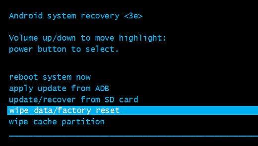 recovery-wipe-data