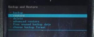 restore nandroid backup