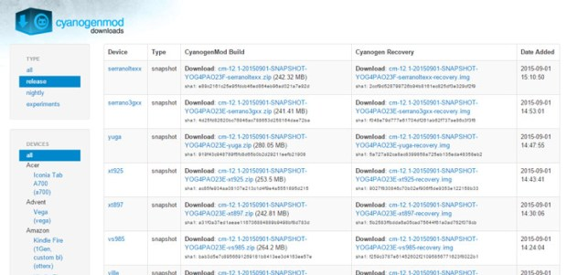cyanogenmod-repository