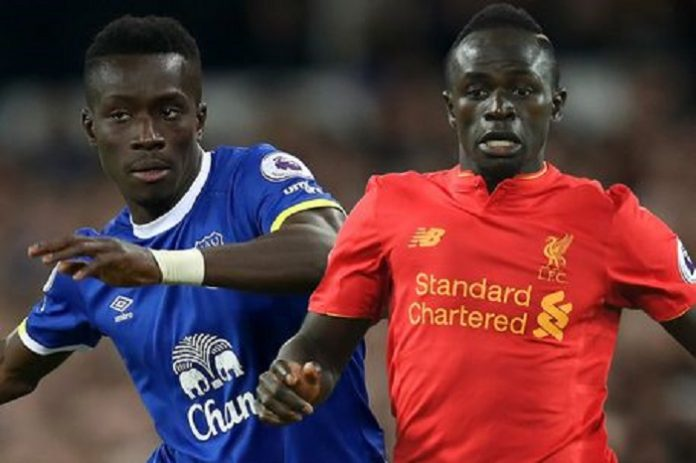 Les compositions officielles — Everton-Liverpool