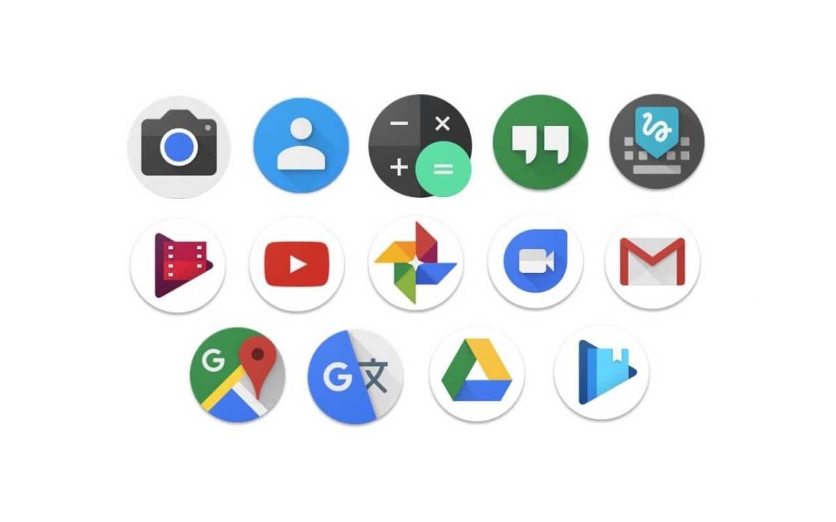 Круглые иконки приложения в Android 7.1