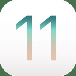 IOS 11 логотип