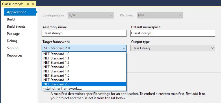 .net standard 3