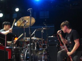 Aaron Solowoniuk and Ben Kowalewicz from Billy Talent