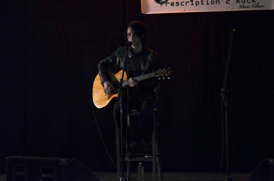 (2/04/14) - Reid Henry at Prescription 2 Rock at Durham College.
