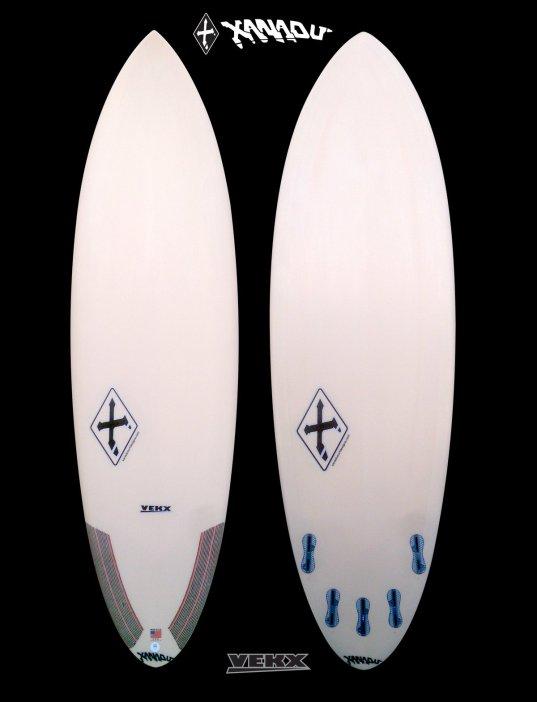 new board models - xanadu-vekx