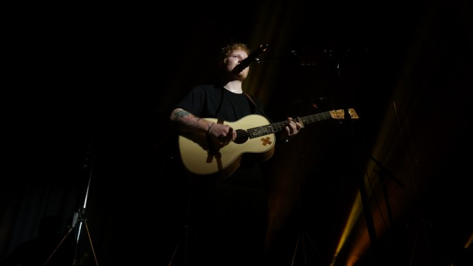 Ed Sheeran @ Ormond Hall 2014