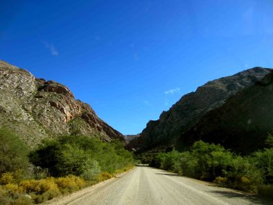 Entrance to the Swartberg Pass
