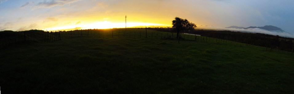 Sunset view panorama!!!
