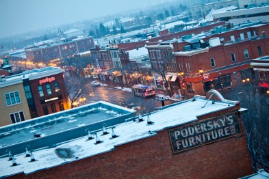Our other view.... Whyte avenue!!!