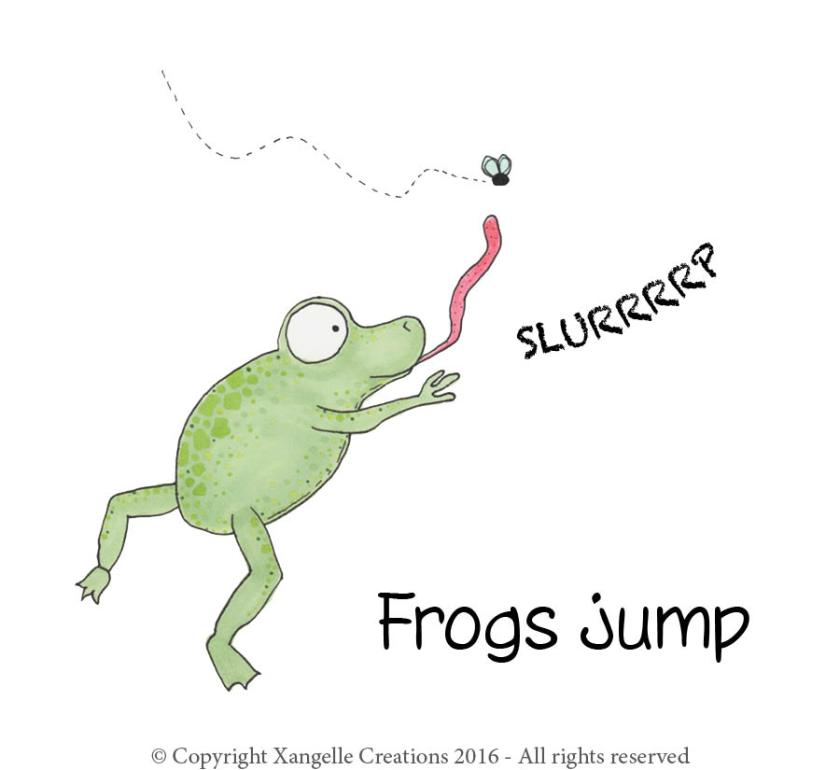 Frogs Jump Title