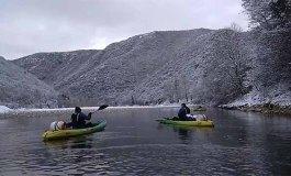 Δείτε video με χιονισμένο τον ποταμό Νέστο στην Ξάνθη
